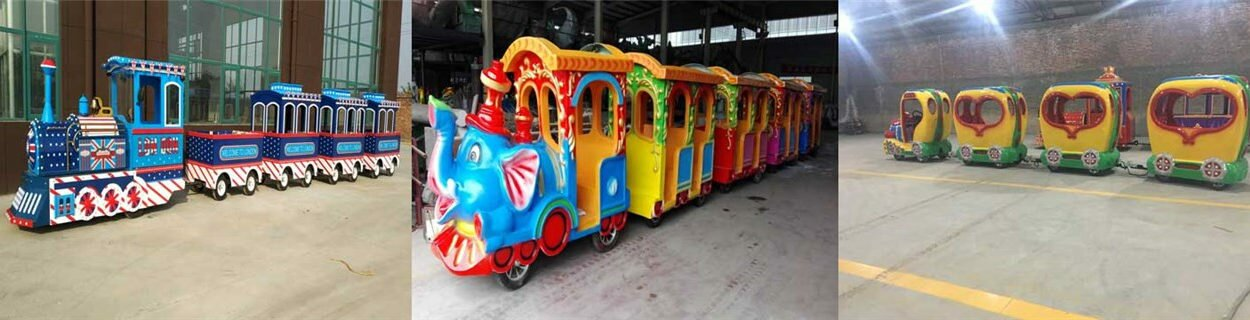 Cheap Trackless Trains For Sale In Powerlion Factory