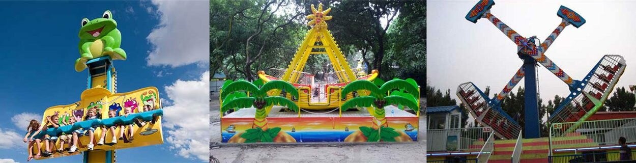 Exciting Amusement Park Rides For Sale In Powerlion Factory