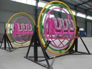 PLHG-6B Gyroscope Ride For Sale With 6 Seats - Powerlion