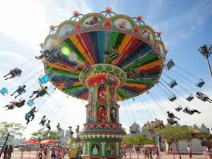 PLSR-48A Amusement Park Swing Ride - Powerlion