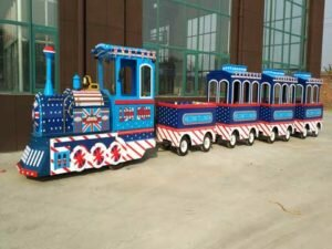 PLTT-4K Trackless Trains For Sale - Powerlion