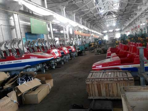 Powerlion Amusement Rides Manufacturing Factory